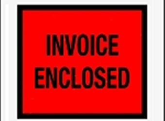 Invoice Enclosed Envelopes Full