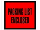 Packing List Enclosed Envelopes Full